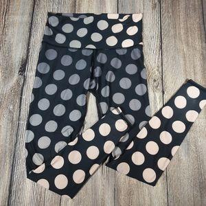 Teeki small Ombre polka dot hot pant leggings